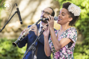saphie wells & the swing cats in the Festa del Viver d'Argentona 2017